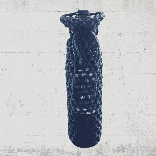 flessendragerkatoenmarineblauw